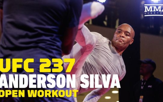 UFC 237: Anderson Silva Open Workout Highlights – MMA Fighting
