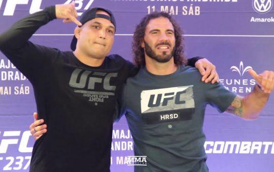 UFC 237: BJ Penn vs. Clay Guida Staredown – MMA Fighting