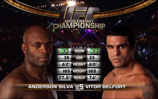 UFC 237 Free Fight: Anderson Silva vs Vitor Belfort