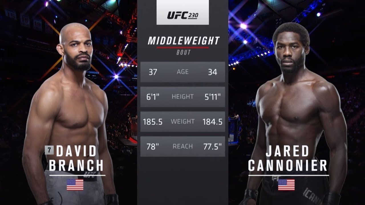 UFC 237 Free Fight: Jared Cannonier vs David Branch