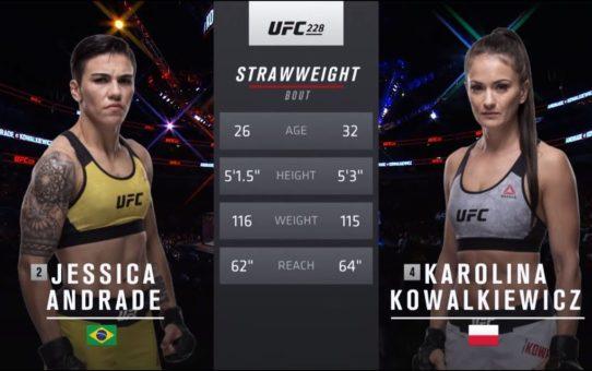 UFC 237 Free Fight: Jessica Andrade vs Karolina Kowalkiewicz