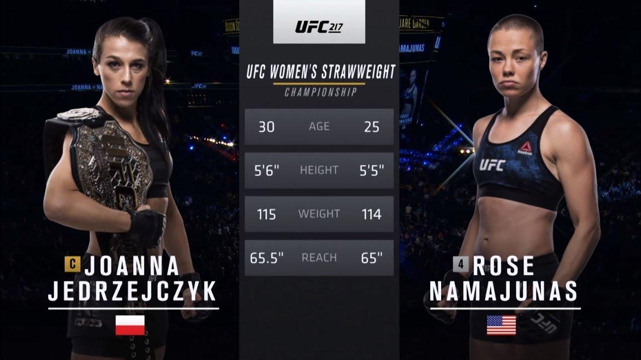 UFC 237 Free Fight: Rose Namajunas vs Joanna Jedrzejczyk 1