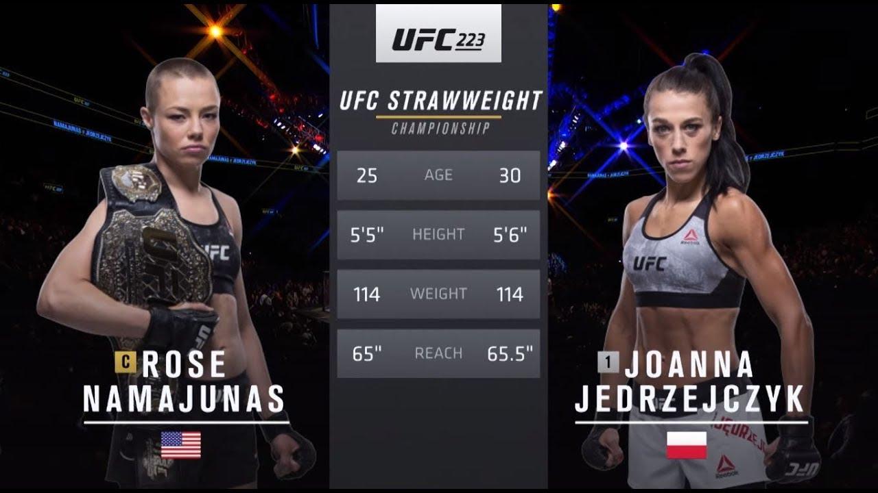 UFC 237 Free Fight: Rose Namajunas vs Joanna Jedrzejczyk 2