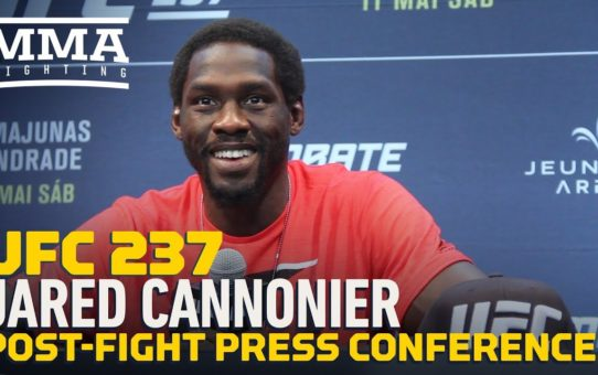 UFC 237: Jared Cannonier Post-Fight Press Conference – MMA Fighting