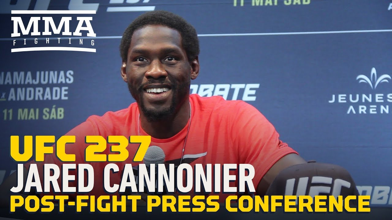 UFC 237: Jared Cannonier Post-Fight Press Conference - MMA Fighting