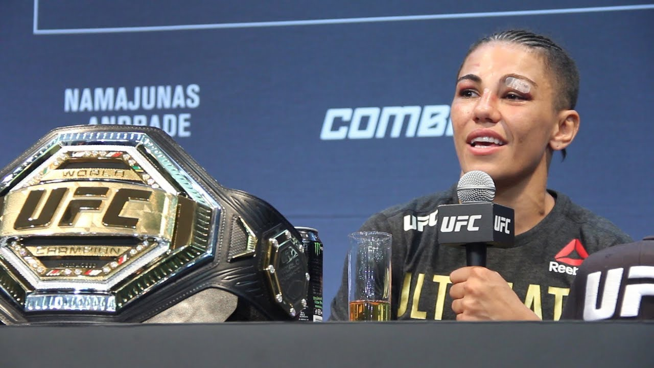 UFC 237: Jessica Andrade Post-Fight Press Conference - MMA Fighting