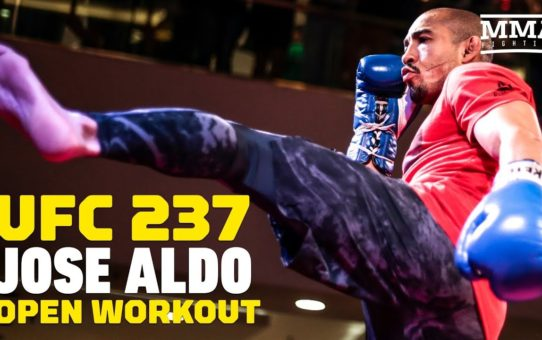 UFC 237: Jose Aldo Open Workout (Complete) – MMA Fighting