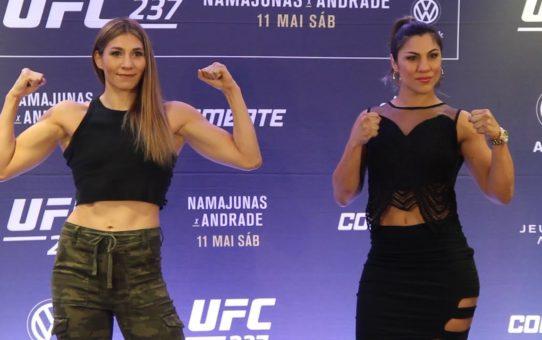 UFC 237 Media Day Staredowns  – MMA Fighting