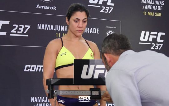 UFC 237 Weigh-Ins: Bethe Correia Misses Weight – MMA Fighting