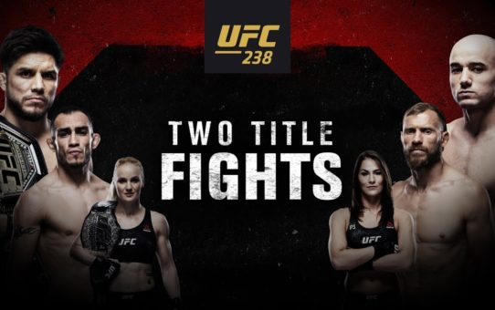 UFC 238: Cejudo vs Moraes – Two Title Fights