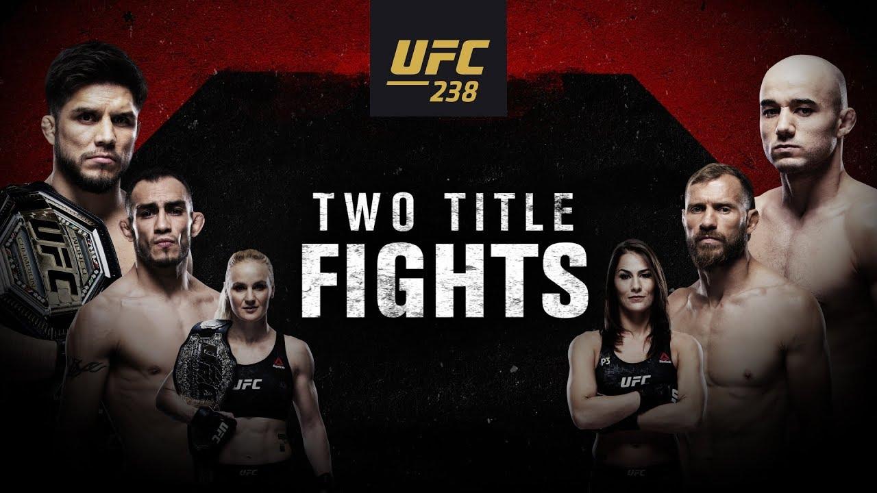 UFC 238: Cejudo vs Moraes - Two Title Fights
