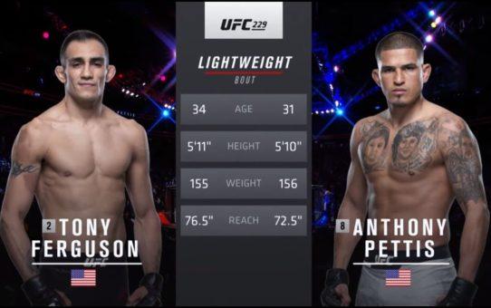 UFC 238 Free Fight: Tony Ferguson vs Anthony Pettis