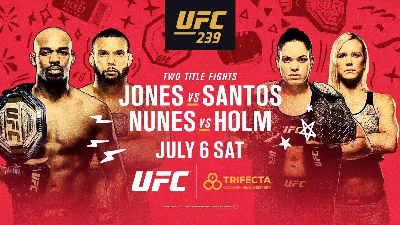 UFC 239 Trifecta Golden Ticket Promotion