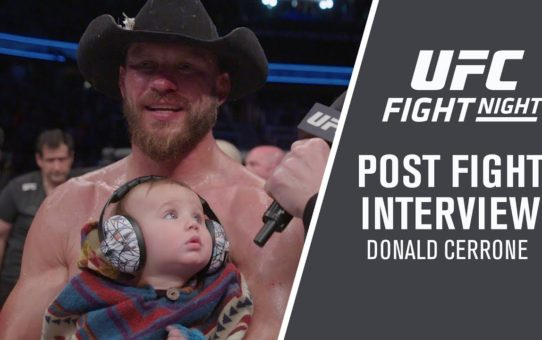 "UFC Ottawa: Donald Cerrone – ""Ya Never Know Which Cowboy's Going To Show Up"""