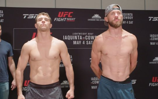 UFC Ottawa: Weigh-in Faceoffs