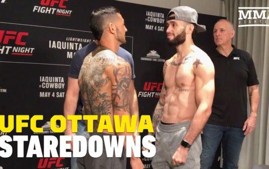 UFC Ottawa Weigh-In Staredowns – MMA Fighting