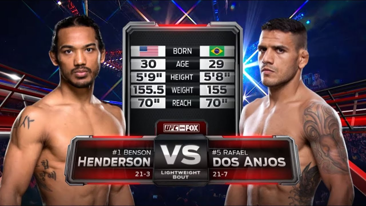 UFC Rochester Free Fight: Rafael Dos Anjos vs Benson Henderson