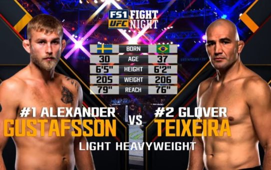 UFC Stockholm Free Fight: Alexander Gustafsson vs Glover Teixiera