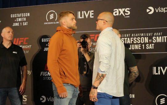 UFC Stockholm Media Day Staredowns – MMA Fighting