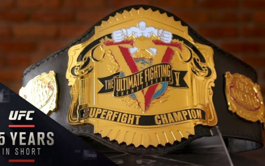 ULTIMATE ACCESSORY: The Story of the UFC Championship Belt