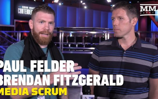 Paul Felder and Brendan Fitzgerald Talk Differences Between Contender Series, TUF – MMA Fighting