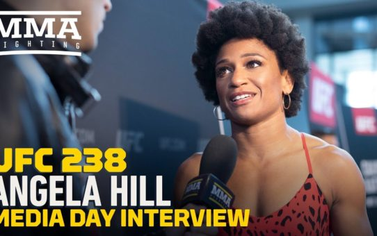 UFC 238: Angela Hill Believes She Will Be A UFC Champion 'For A Long Time' – MMA Fighting