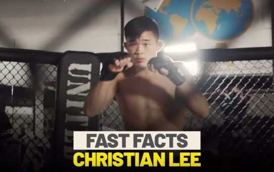 10 Things You Never Knew About Christian Lee | ONE Fast Facts