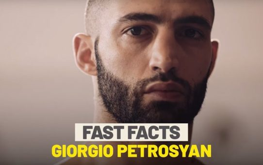 10 Things You Never Knew About Giorgio Petrosyan | ONE Fast Facts