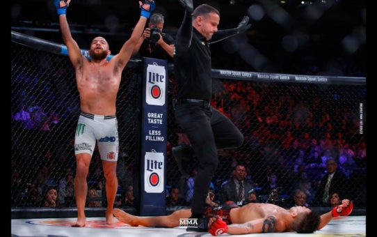 Bellator 222: Juan Archuleta Floors Eduardo Dantas With Counter Punch – MMA Fighting