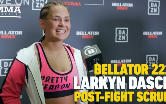 Bellator 222: Larkyn Dasch 'Would Love' Rematch Against Valerie Loureda – MMA Fighting