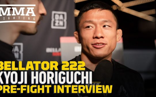 Bellator 222: Kyoji Horiguchi Likes Fighting in Cage More Than Ring – MMA Fighting