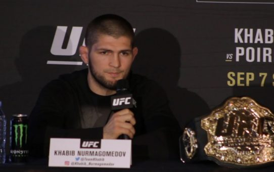 UFC 242 Press Conference: Khabib Nurmagomedov vs. Dustin Poirier – MMA Fighting