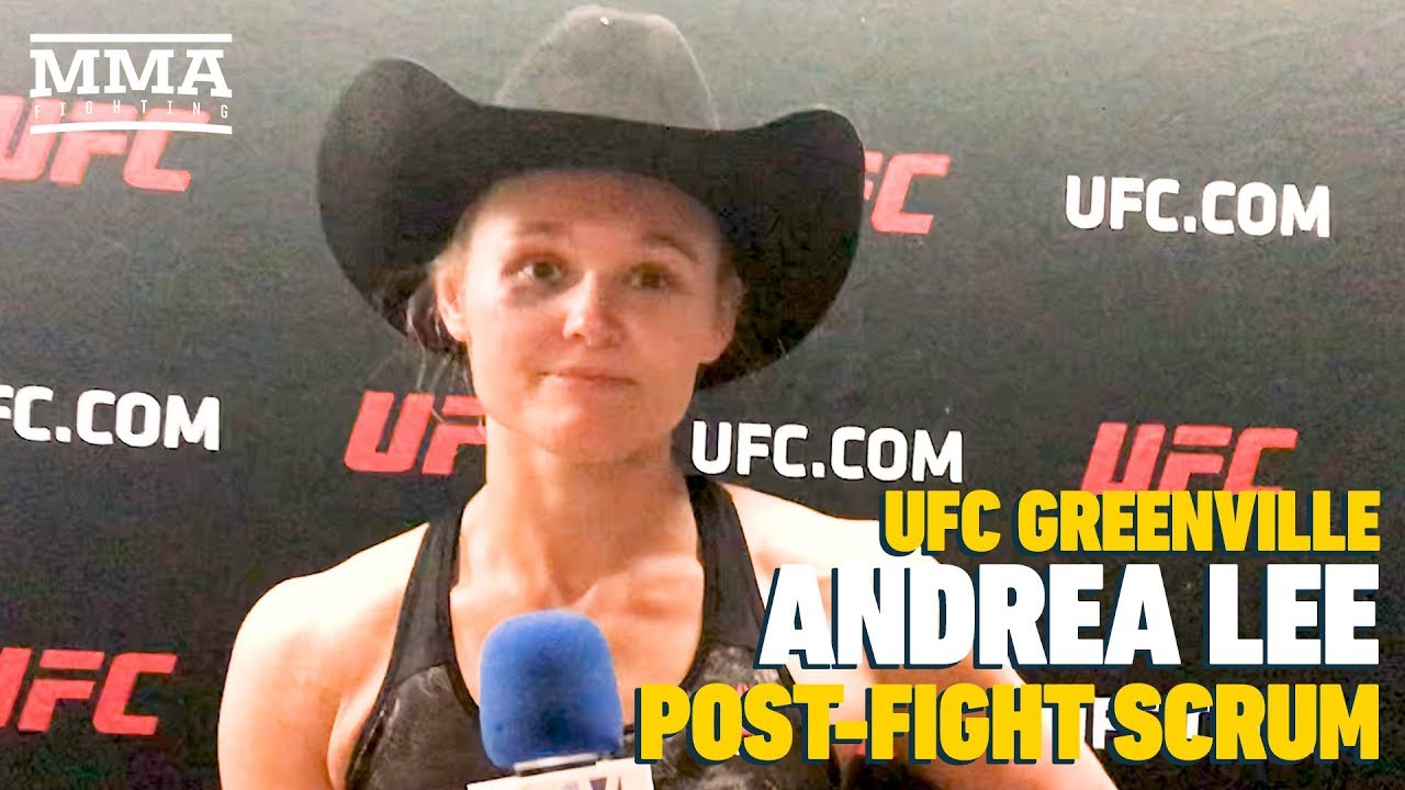 UFC Greenville: Andrea Lee Says Personal Issues 'Prove That I Can Handle All The Hard Things'