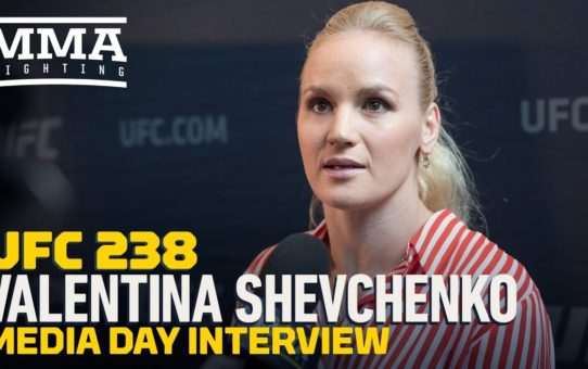 UFC 238: Valentina Shevchenko Unfazed By Jessica Eye's Bulletproof Vest, 'It Won't Help Her'