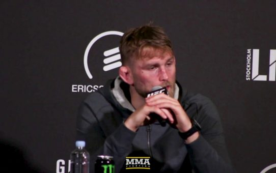 Alexander Gustafsson Will Retire: 'I Don't Have It in Me Anymore' – MMA Fighting