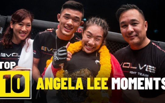 Angela Lee's Best Moments | ONE Top 10