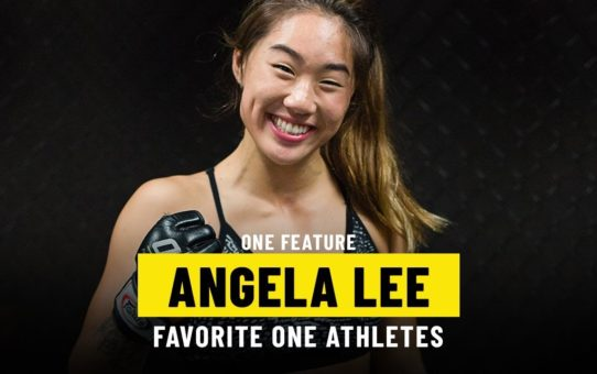 Angela Lee's Favorite ONE Athletes | ONE Feature