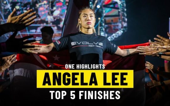 Angela Lee's Top 5 Finishes | ONE Highlights