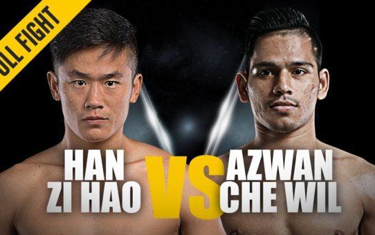 Han Zi Hao vs. Azwan Che Wil | Crushing Combinations | ONE Full Fight | November 2018