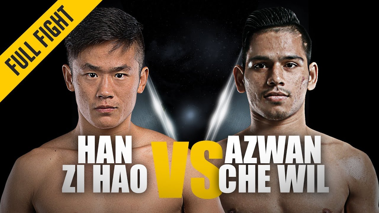 Han Zi Hao vs. Azwan Che Wil   Crushing Combinations   ONE Full Fight   November 2018
