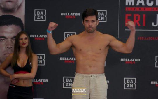 Bellator 222: Lyoto Machida vs. Chael Sonnen Weigh-In Staredown – MMA Fighting