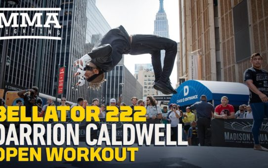 Bellator 222: Darrion Caldwell Open Workout Highlights – MMA Fighting