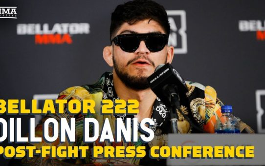 Bellator 222: Dillons Danis Post-Fight Press Conference – MMA Fighting