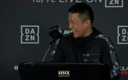 Bellator 222: Kyoji Horiguchi Post-Fight Press Conference – MMA Fighting