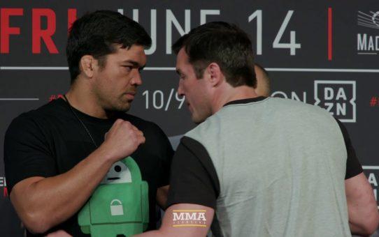 Bellator 222: Lyoto Machida vs. Chael Sonnen Staredown – MMA Fighting