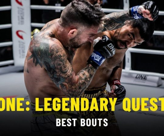 Best Bouts   ONE: LEGENDARY QUEST