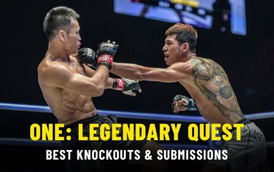 Best Knockouts & Submissions | ONE: LEGENDARY QUEST