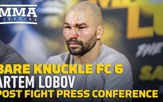 BKFC 6: Artem Lobov Post-Fight Press Conference – MMA Fighting