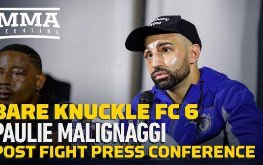 BKFC 6: Paulie Malignaggi Post-Fight Press Conference – MMA Fighting