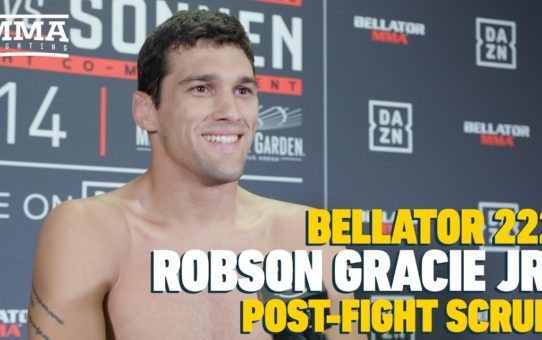 Robson Gracie Jr. Talks About Bringing 'Gracie Spirit' to Bellator 222 – MMA Fighting